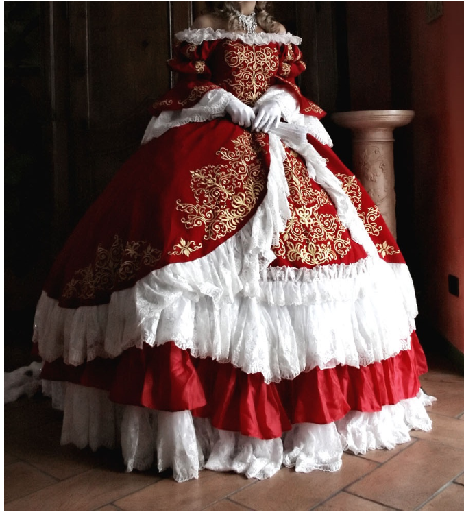 Marie Cosplay Costume from The Rose of Versailles
