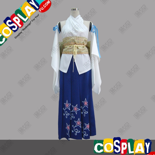 Yuna Cosplay Costume from Final Fantasy X