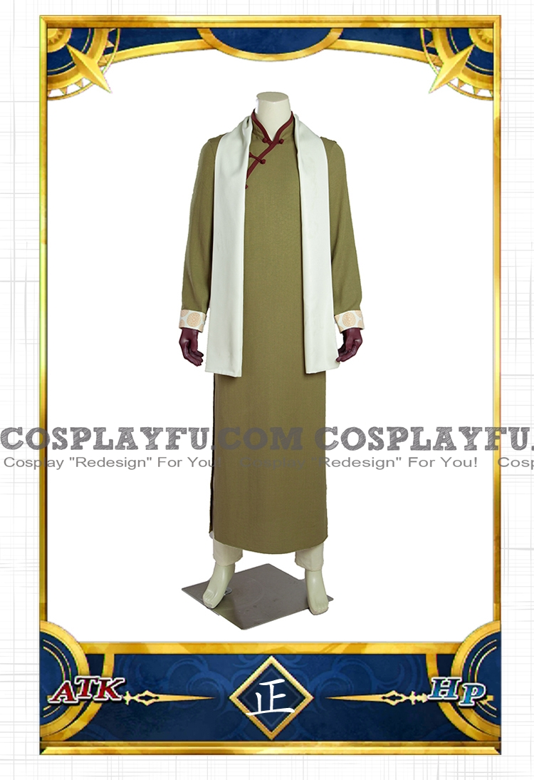 Detective Edmond Cosplay Costume from Fate Grand Order