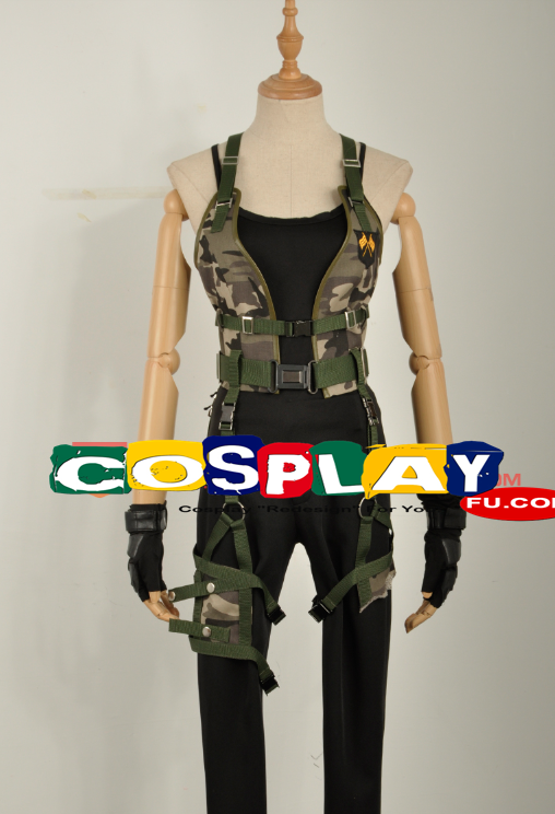 Alice Cosplay Costume (2nd) from Resident Evil