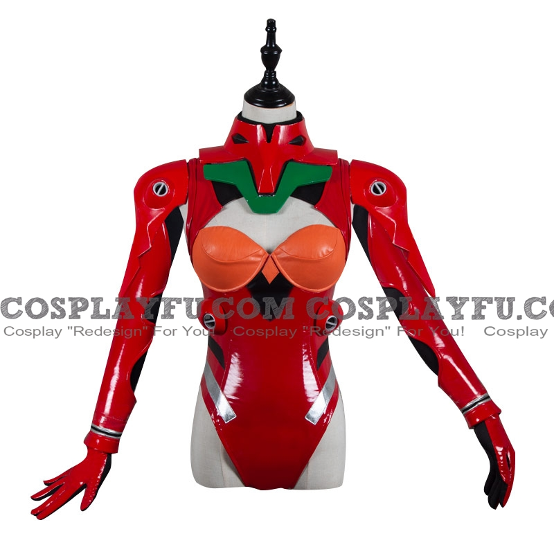 Asuka Cosplay Costume (Red) from Neon Genesis Evangelion