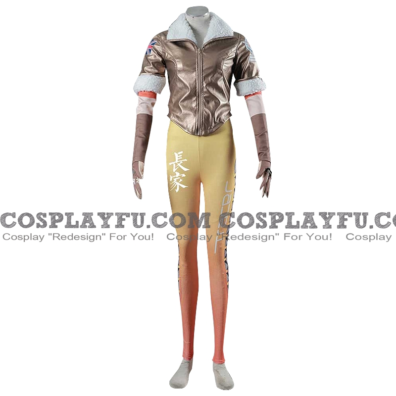 Tracer Cosplay Costume (2nd) from Overwatch