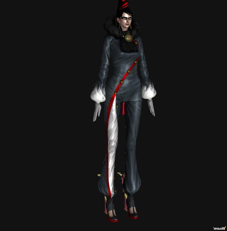 Bayonetta Cosplay Costume (D'arc) from Bayonetta