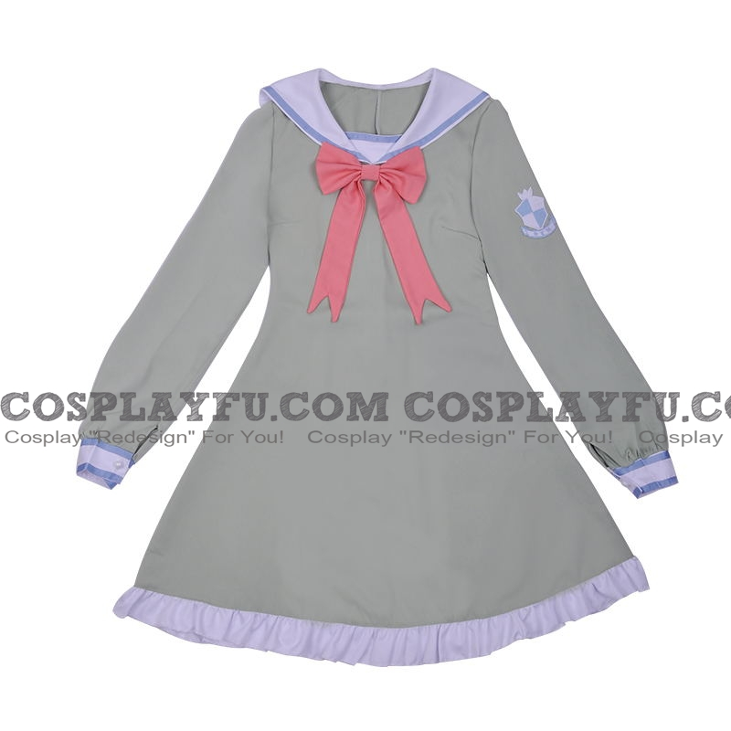 Rem Cosplay Costume (Casual) from Re:Zero