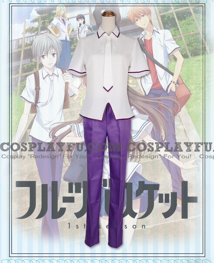 Yuki Cosplay Costume (Summer Uniform) from Fruits Basket