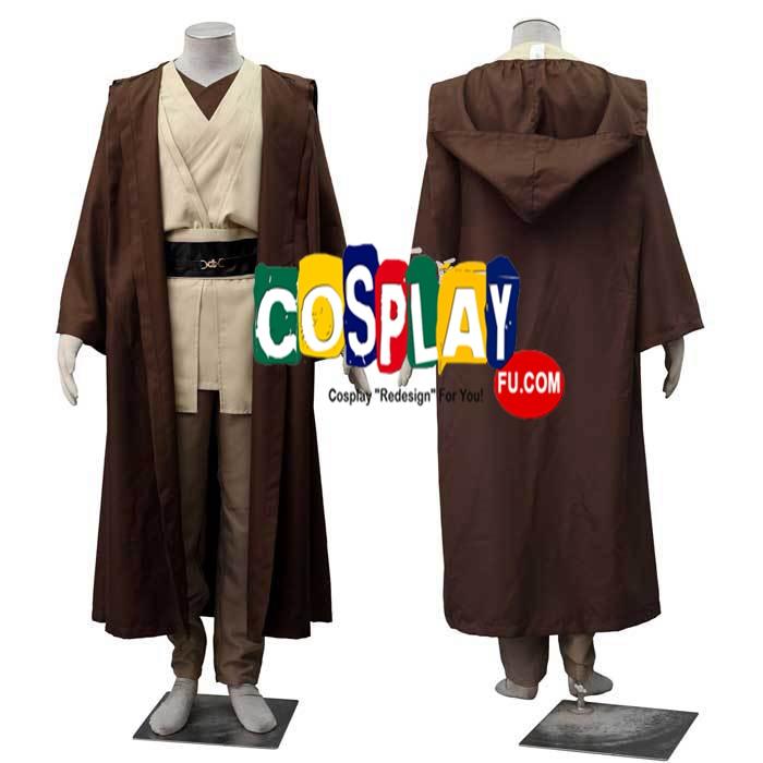 Obi-Wan Cosplay Costume from Star Wars
