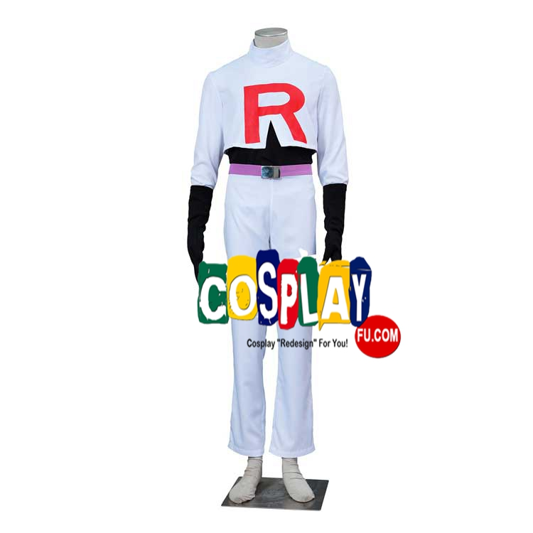 James Cosplay Costume from Pokemon
