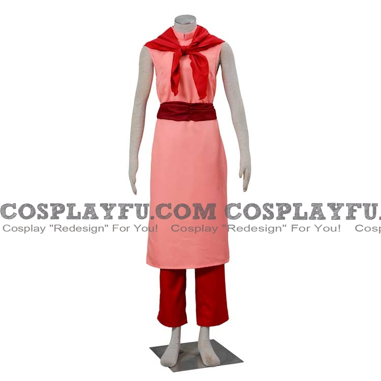 DBZ Chichi Cosplay Costume from Dragon Ball