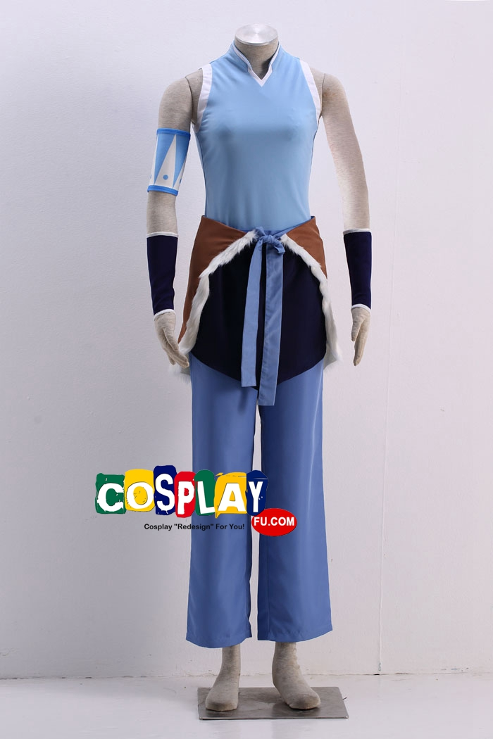 Korra Cosplay Costume (2nd) from The Legend of Korra