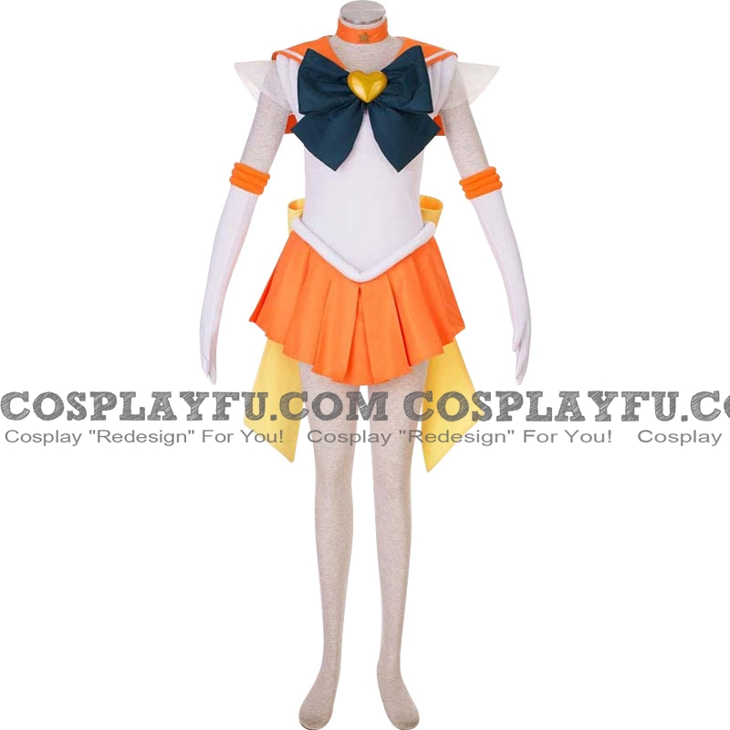 Sailor Venus Cosplay Costume (2nd) from Sailor Moon