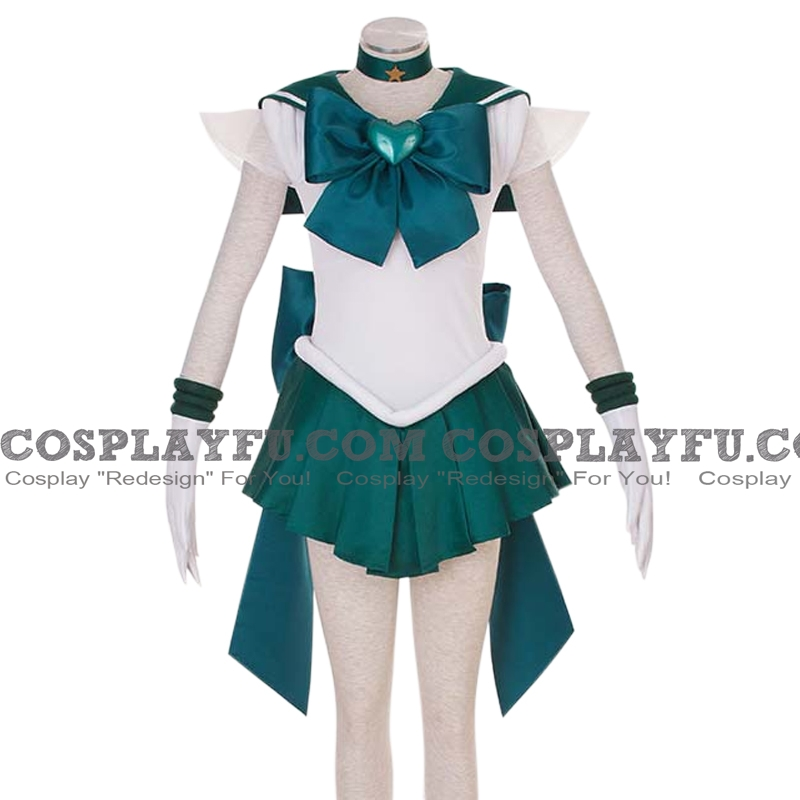 Sailor Neptune Cosplay Costume (2nd) from Sailor Moon