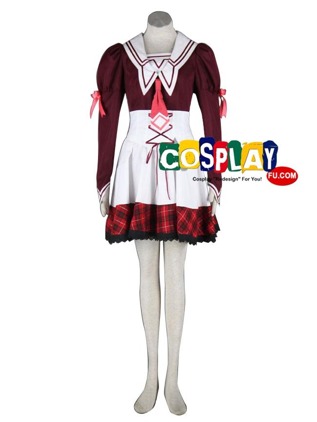 Misuzu Cosplay Costume from 11eyes -Tsumi to Batsu to Aganai no Shoujo-