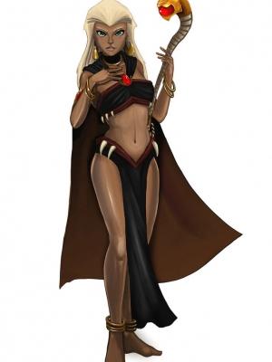 Queen La Cosplay Costume from Kingdom Hearts