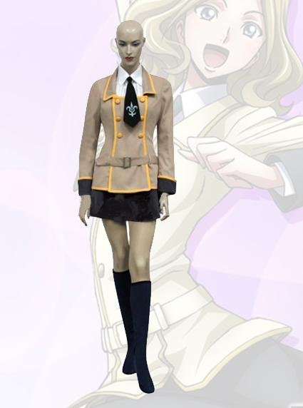 Milly Ashford Cosplay Costume from Code Geass