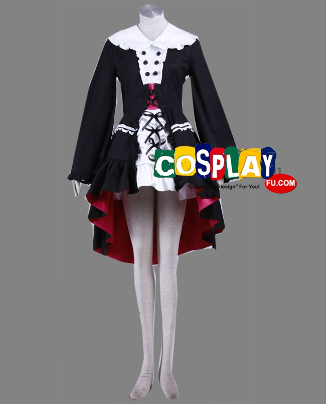 Mikuru Cosplay Costume (2nd) from The Melancholy of Haruhi Suzumiya