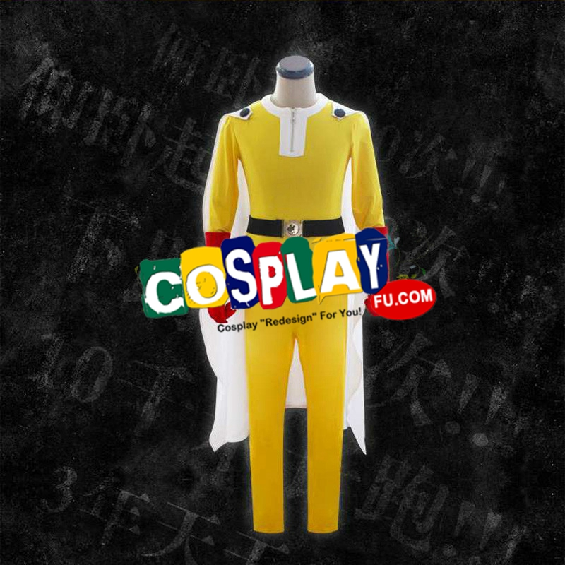 Saitama Cosplay Costume (2nd) from One Punch Man