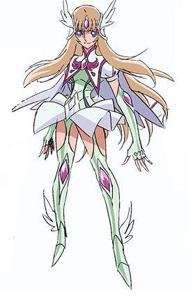 Yuna Cosplay Costume from Saint Seiya