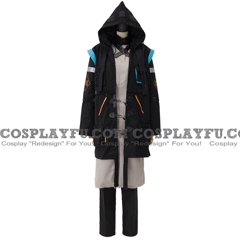 Doctor Cosplay Costume from Arknights
