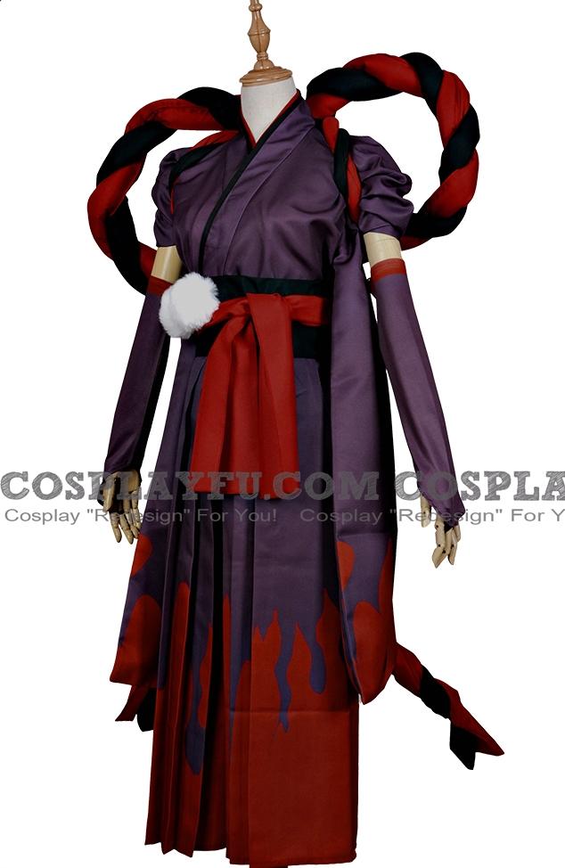 Kuro Mujo Cosplay Costume (Default) from Onmyoji