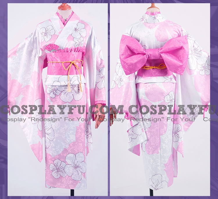Tohka Cosplay Costume (Yukata) from Date A Live