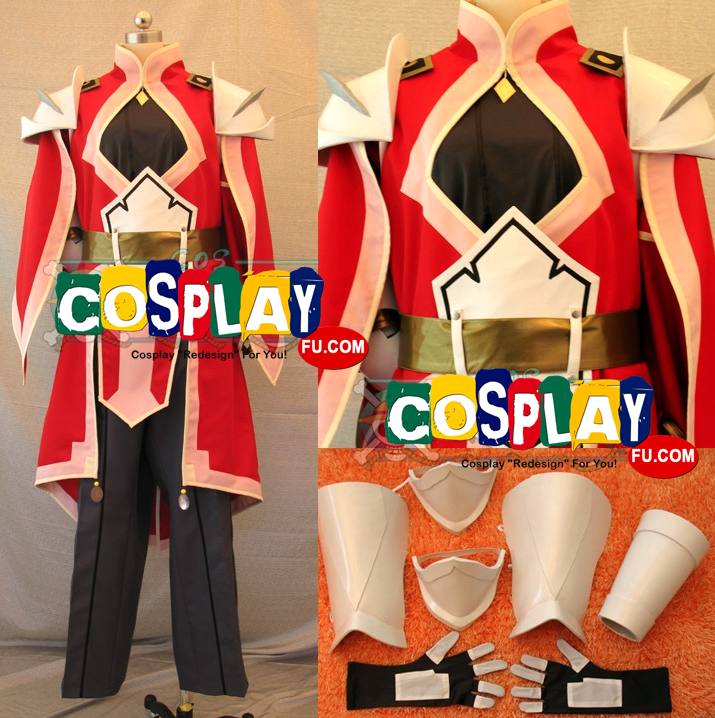 Alexei Dinoia Cosplay Costume from Tales of Vesperia: The First Strike