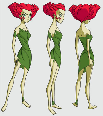 Poison Ivy Cosplay Costume (Dress) from Batman