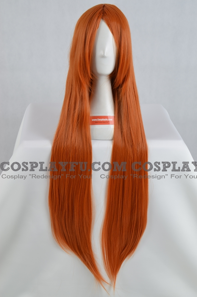 Orange Wig (Long,Straight,XSP09CS,CF06)