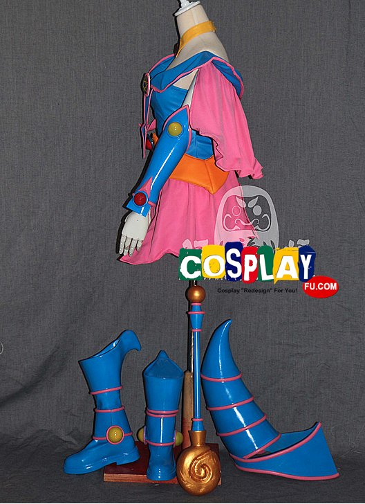 Dark Magician Girl Cosplay Costume from Yu-Gi-Oh!