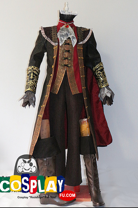 The Knight Cosplay Costume from Bloodborne
