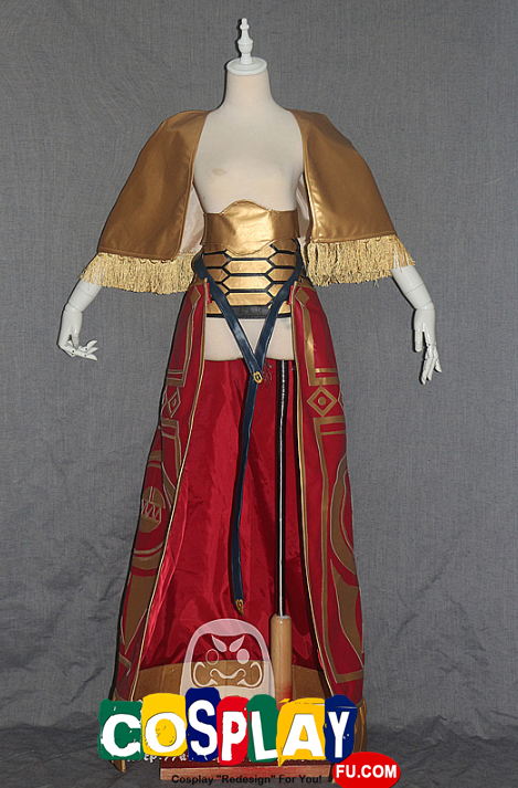 Gilgamesh Cosplay Costume (Red) from Fate Stay Night