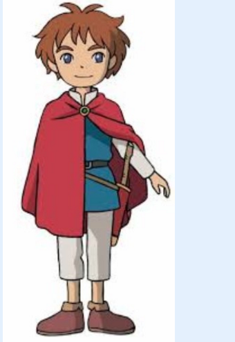 Oliver Cosplay Costume from Ni no Kuni: Shikkoku no Madoshi