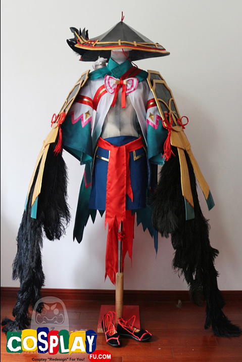 Ubume Cosplay Costume from Onmyoji
