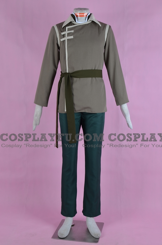 Bolin Cosplay Costume (New Version) from The Legend of Korra