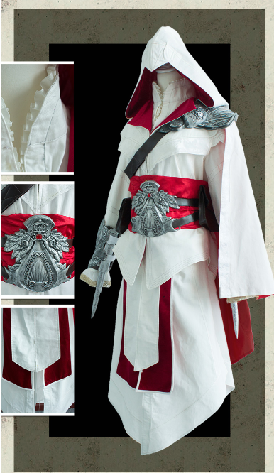 Altair ibn-LaAhad Cosplay Costume from Assassin's Creed