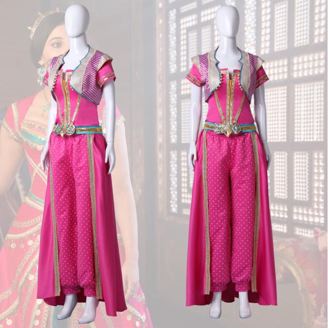 Princess Jasmine Cosplay Costume (2nd) from Aladdin