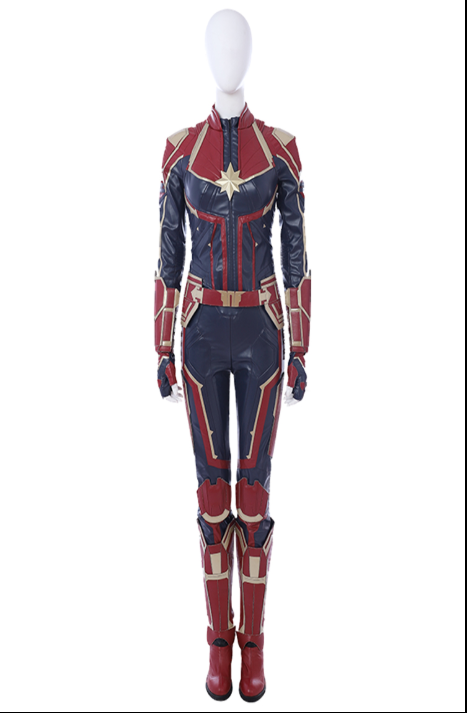 Ms. Marvel Cosplay Costume (2nd) from Captain America