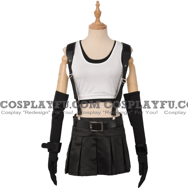 Tifa Cosplay Costume (1253) from Final Fantasy VII