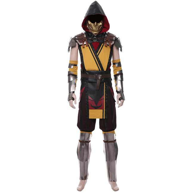 Scorpion Cosplay Costume (2nd) from Mortal Kombat