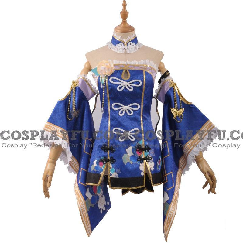 Matsuura Cosplay Costume (China Dress) from Love Live! Sunshine!!
