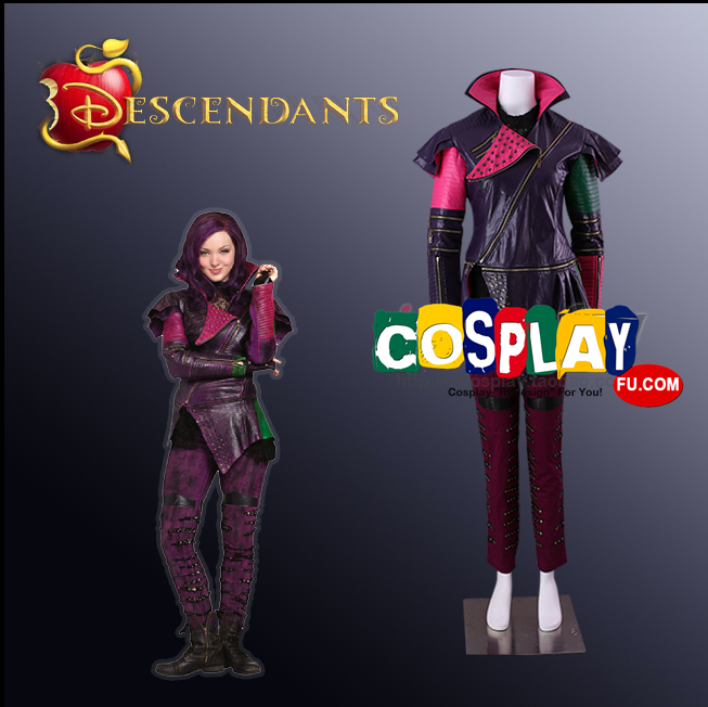 Maleficent Bertha Cosplay Costume from Descendants 2015 film