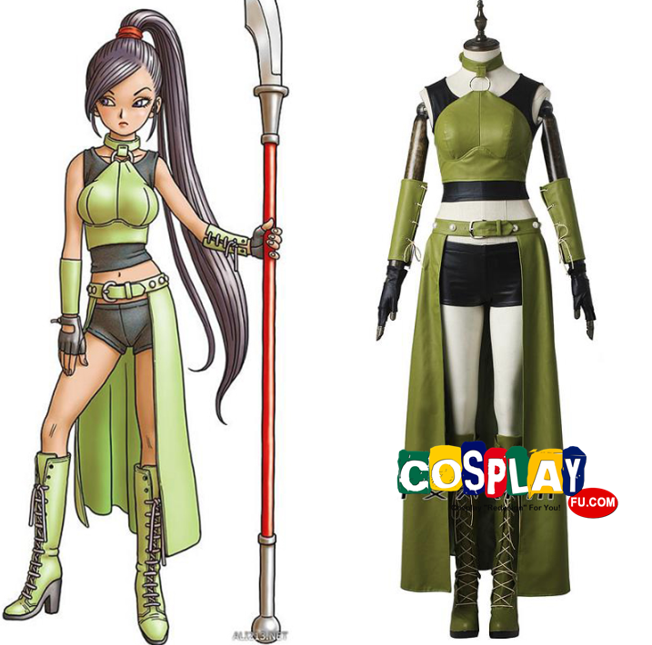Jade Cosplay Costume from Dragon Quest