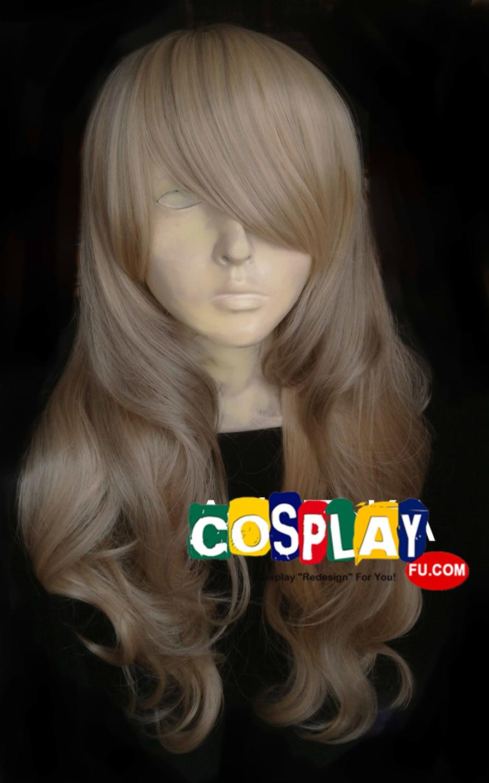 Medium Wavy Blonde Wig