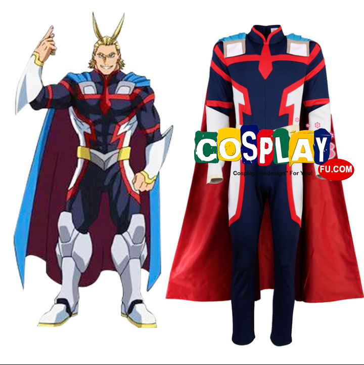 Allmight Cosplay Costume from My Hero Academia