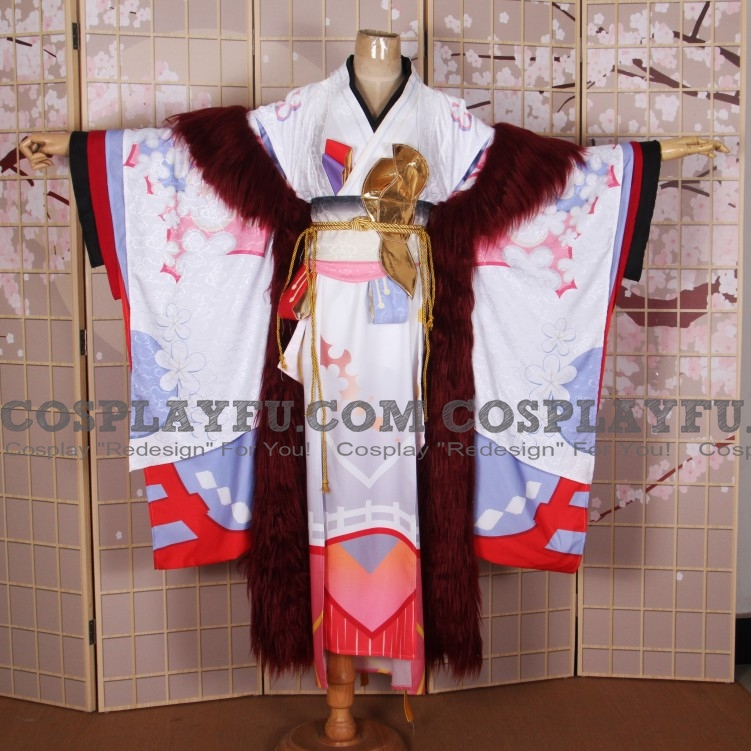 Higanbana Cosplay Costume (1520) from Onmyoji