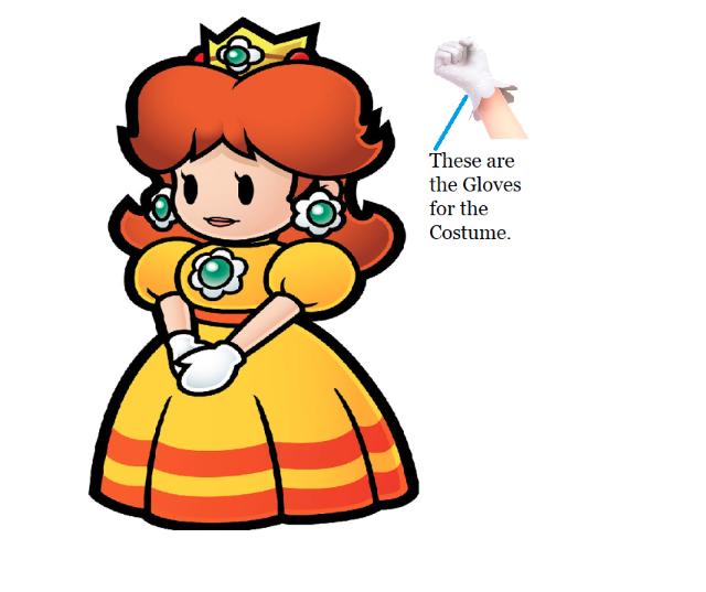 Super Mario Princess Daisy Costume (2nd)