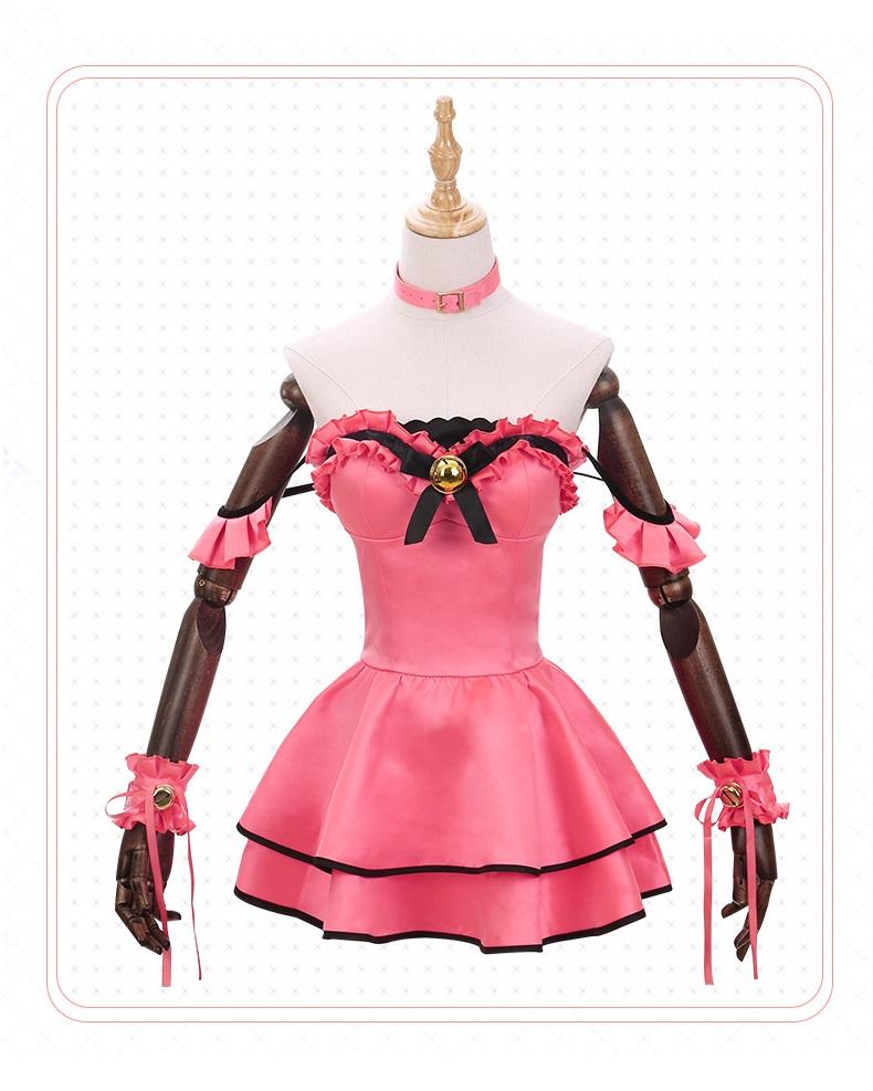 Date A Live Kurumi Tokisaki Costume (Meow)