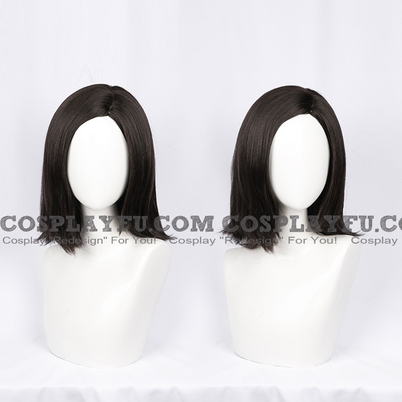 Alita Cosplay Costume Wig from Battle Angel Alita