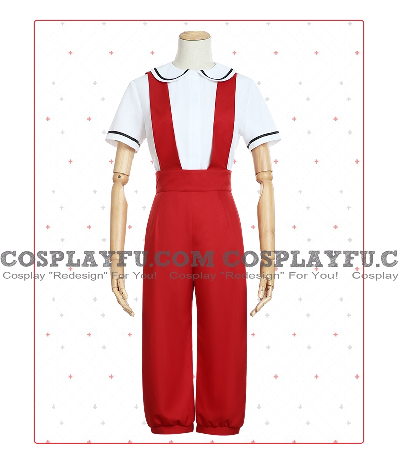 Cells at Work Red Blood Cell Costume (Young, Genderbend)