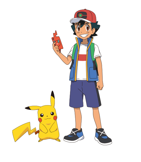 Ash Cosplay Costume (2019) from Pokemon