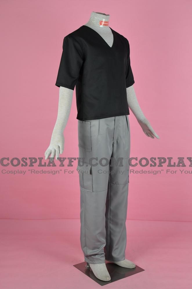 Custom Kyo Sohma Cosplay Costume (Black) from Fruits ...